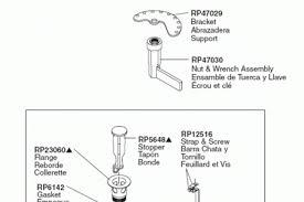 Delta Faucet Parts Diagram Delta Shower Faucet Parts Diagram Periodic Tables