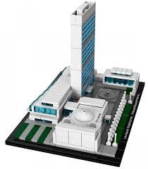 siege des nations unis lego architecture 21018 pas cher le siège des nations unies