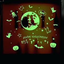wall ideas eco friendly happy halloween 3d wall stickers pumpkin