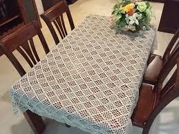 new crochet pattern table cover 100 handmade table topper
