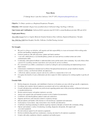 Executive Resume Samples 2014 Entry Level Respiratory Therapist Resume Respiratory Therapist