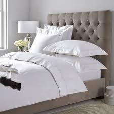 Linen Bed Bed Linen Linen Silk U0026 Egyptian Cotton The White Company