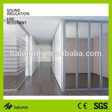 office cubicle design small office partition double glass