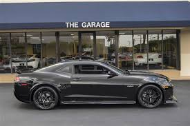 camaro z28 2014 black 2014 used chevrolet camaro 2dr coupe z 28 at the garage inc