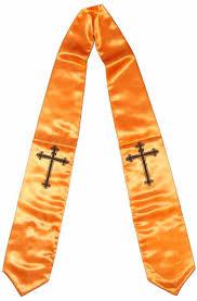 graduation accessories graduation stoles all colors patterns in stock satin stoles