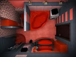 desain kamar mandi warna hitam putih desain kamar mandi minimalis warna gelap rumah dan desain