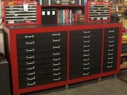 diy wood tool cabinet sweet toolbox barakholka pinterest toolbox woodworking and