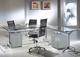 Glass Desk Table New Ideas Glass Office Furniture And Maintaining Glass Office Desk