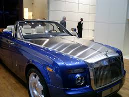 roll royce ghost blue view of rolls royce phantom drophead coupe photos video
