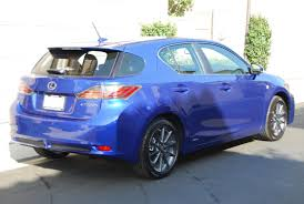 lexus ct200h f sport canada 2012 lexus ct200h f sport ultrasonic blue counting down the days