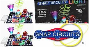 snap circuits lights electronics discovery kit elenco snap circuits light scl 175 ipod and iphone compatible free
