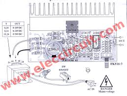 Diy Bench Power Supply Variable 0 50v Variable Power Supply Circuit At 3a