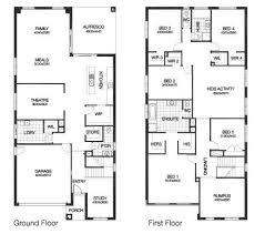 ground floor first floor home plan 13 best aussie house plans images on pinterest house design
