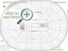 moda center rose garden arena seat u0026 row numbers detailed