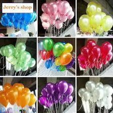 cheap balloons 10 cheap ballon silver balao party globos white wedding