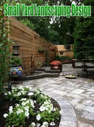 fascinating landscaping designs for small backyards images