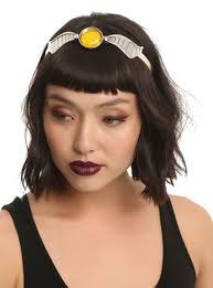 jimi headband harry potter golden snitch metal headband hot topic