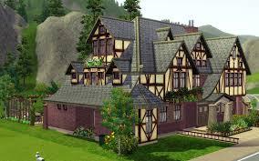 Tudor Houses by Tudor House No 2 Jarkad Sims3 Blog
