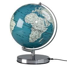 earth globes that light up buy the colour globe light utility design uk