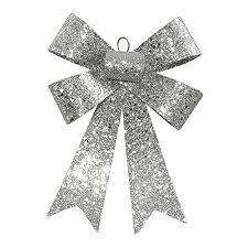 vickerman glitter 5 loop bow decorative