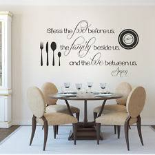 Kitchen Wall Decor by Kitchen Words Phrases Décor Wall Stickers Ebay