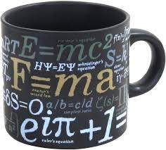 amazon com mathematical formulas coffee mug ponder famous math