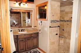 doorless bathroom walk in shower