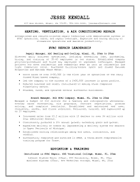 Sample Resume For Computer Science Graduate by Sample Hvac Resume Resume For Your Job Application