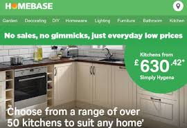 homebase for kitchens furniture garden decorating homebase edlp strategy extends to kitchens