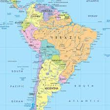 south america map atlas countries of south america map quiz