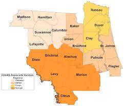 Florida Regions Map by Region 2 Florida Inclusion Network