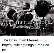 Gym Memes Tumblr - whonr men are alpha tumblr cym the boss gym memes