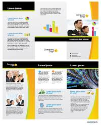 free flyer designs free business vector brochure template in illustrator