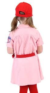 Rockford Peaches Halloween Costume Amazon Rockford Peaches Aagpbl Baseball Girls Costume Dress