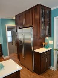 Kitchen Cabinets For Small Kitchen by Space Above Fridge Idea I Like This Or Making It Into A Wine Rack
