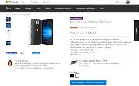 si e de microsoft microsoft lumia 950 ist im microsoft store deutschland ausverkauft