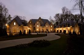 luxury drive ways long winding driveway leading up to the main