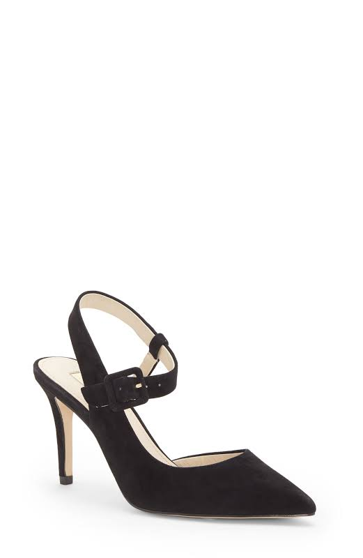 LOUISE ET CIE Jyce Slingback Pumps, Black,