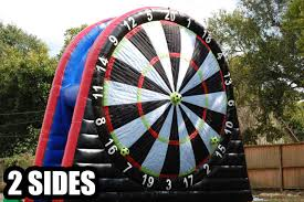 soccer darts houston tx giant velcro target sky high party rentals