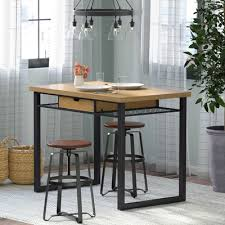 trent design pub tables bistro pine pub tables bistro sets you ll wayfair