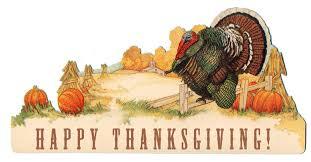 and happy turkey day