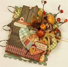 gogo scrapbooking kit mini album thanksgiving thankful fall
