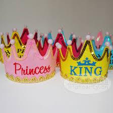 birthday hats aliexpress buy happy birthday hats prince and princess hats