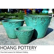 how to make a glazed ceramic planter pots