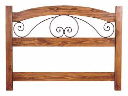 Wrought Iron Headboard Full by Amazing Wood And Iron Headboards 39 About Remodel Wood Headboards