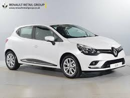 nearly new renault for sale clio 1 2 16v dynamique white orpington