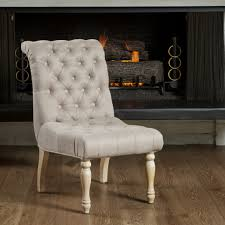 linen tufted dining chairs modern chairs design