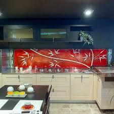credence en verre pour cuisine verre pour credence cuisine 3 le est tr232s moderne pour la