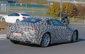 lexus lf lc performance lexus lf lc spied testing near the nurburgring