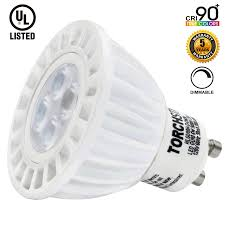 Dimmable Led Light Bulbs For Recessed Lighting by 6w High Cri Dimmable Gu10 Led Bulb Gu10 Spotlight Torchstar